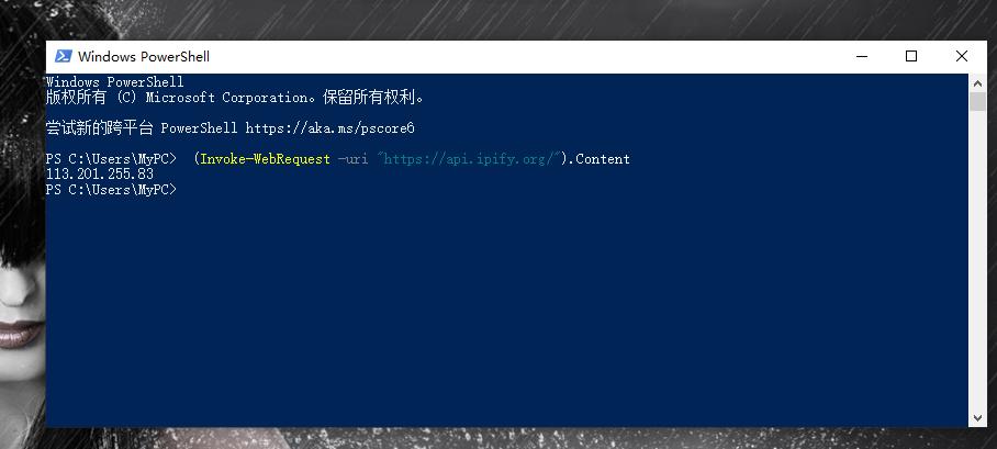 如何查看电脑的外网IP地址
